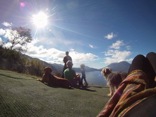 January - seeing in the New Year in Atitlan, Guatemala