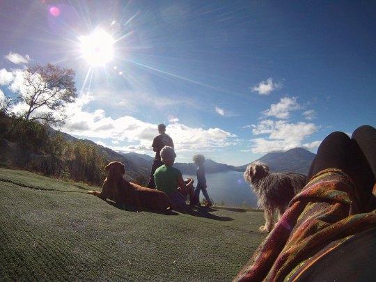 January - seeing in the New Year in Atitlan, Guatemala